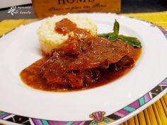 Θραψαλα κρασάτα Sweet Recipes, Steak, Pork, Beef, Kale Stir Fry, Meat, Steaks, Pork Chops