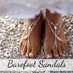 Beach Wedding Bridesmaid Shoes: