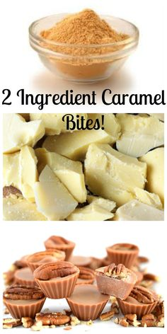 Only TWO INGREDIENTS!! that's right! just lucuma powder and cacao butter and you have yourself a yummy healthy snack!