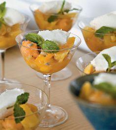 Refrescante: sopa de frutas secas e frescas