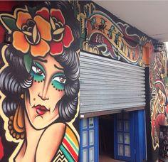 Graffiticwb by Henrique Véio para La Santa Bar