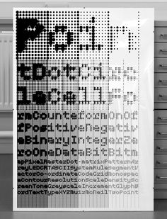 MuirMcNeil TwoPoint poster: silk-screened black, Naturalis Absolute Smooth, 160gsm, 100x70cm, Edition 100