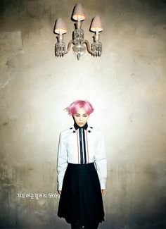 G-Dragon (Big Bang) for Harper's Bazaar 08/2012