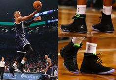 Russell Westbrook wearing Air Jordan XX8