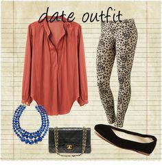 """""""DATE OUTFIT"""" by susan-escalante on Polyvore"""