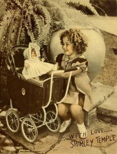 Shirley Temple and her doll