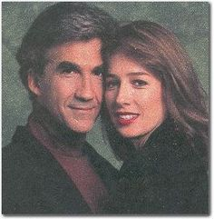 Roger (Michael Zaslow) and Holly (Maureen Garrett) photo from the early 1990s Guiding Light