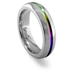 13 men's wedding bands with unexpected accents | Offbeat Bride