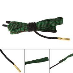 Hunting Bore Snake Rifle Cleaning .22 Cal 223 5.56mm Calibre Boresnake Rope Rifle Barrel Kit Caza Articulos De Caza Caccia