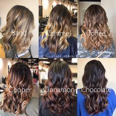 Most current Images Balayage hair blonde sand Ideas Summer's along the way! As well as our own thoughts choose smarter, less heavy, much more glamorou Brown Hair Balayage, Hair Color Balayage, Blonde Balayage, Hair Highlights, Balyage Brunette, Baylage, Haircolor, Ombre Hair Color, Brown Hair Colors