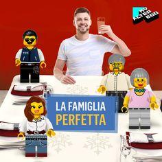 Vuoi passare le feste con i parenti, ma non con le loro domande scomode? Al pranzo di Natale sostituiscili con i loro MyEgo Toys!