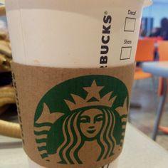 Starbucks. The greatest invention.