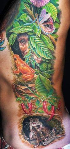 Realism Nature Tattoo by Zhivko Baychev | Tattoo No. 5637
