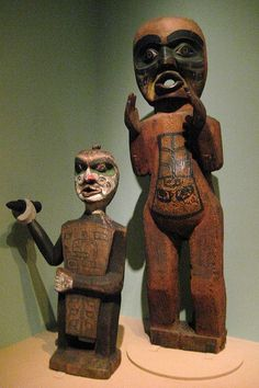 NYC - National Museum of the American Indian - Potlach figures by wallyg, via Flickr