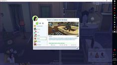 Dentist Career by Arriannarere (Sims 4) This adds a simple one track 7 level dentist career. This career comes in English so if you use any other language it will pop up in English. The Dentist career...