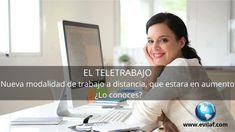 El teletrabajo. Nueva modalidad de trabajo a distancia - EVILAF | Escuela Virtual Latinoamericana de Asesoría y Formación Distance, School, News