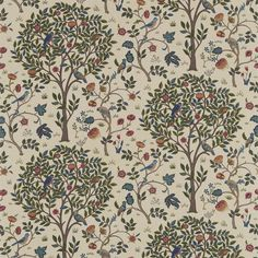 49+ Famous Textile Prints William Morris And Co 220327 Kelmscott Tree Fabric Archive Prints with regard to 49+ Famous Textile Prints  #TextileArt