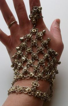 Medieval Style Bracelet and Ring Combo by onetime on Etsy, $5.25