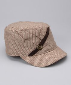 Take a look at this Tan Monique Wool-Blend Newsboy Hat by Goorin Bros. on #zulily today!