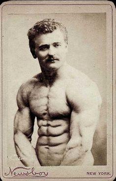 In nature s garb bodybuilder stroking