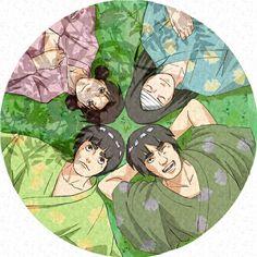 Team Guy,ten ten , neji , rock Lee , Guy sensei ; )