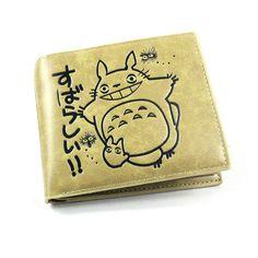 Totoro Anime Khaki Short Style Wallet - OtakuForest.com