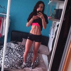angela radu, teen muscle girl