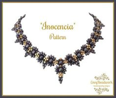 Beading Pattern: Inocencia Necklace in English