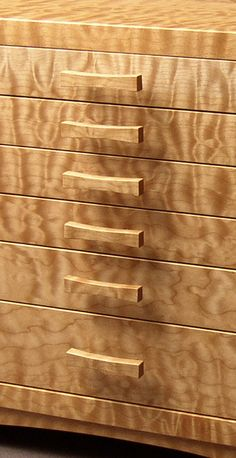 Quilted Bigleaf Maple Dovetailed Jewelry Box $2,692.70