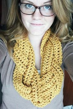 Braided Crocheted Scarf   Rookie Crafter  (If you haven't figured this out on your own, here ya' go.) She used an I hook and I Love This Yarn (found that in comments).