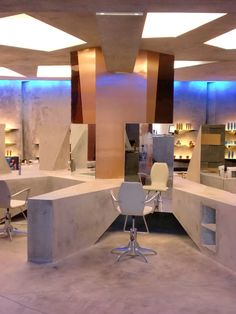 Hair and Spa Salon Interior