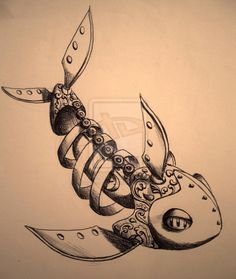 Steam Punk fishh by ~eldonevangelista on deviantART