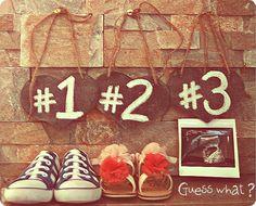 My pregnancy announcement photo