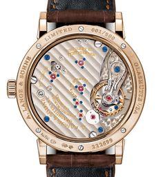 A. Lange & Söhne Caliber L051.1 In Honey Gold case - Perpetuelle