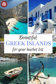 With so many beautiful Greek islands, how do you choose which to visit? We've asked travel writers to share their favourites and explain what makes them so special. Find out the most beautiful, the quietest and the most laidback Greek islands. #bestgreekislands #beautifulgreekislands #familytravelgreece #greekislands