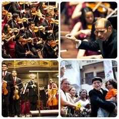 La Sinfónica de Venezuela cautiva a Europa (7 fotos) La Sinfónica Juvenil de Caracas realiza su quinta gira por Europa, que incluye siete ciudades. Como parte de este tour, la agrupación ya se presentó Zurich, París, Hamburgo y Budapest, y se prepara para asombrar al público de Viena y Gotemburgo.