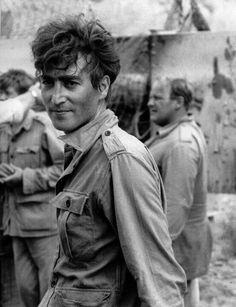 """John Lennon in Spain on the set of """"How I Won the War"""""""