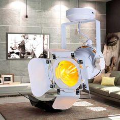 Потолочный #прожектор в стиле #Лофт для ламп с цоколем Е27