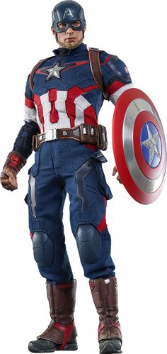 Hot Toys Captain America Sixth Scale Figure $224.99!  Click on pictures until you get to the Sideshow page for more info, pics, and to pre-order now!