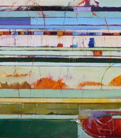 C H R I S G W A L T N E Y FINE ART #colorful #abstract #art lines