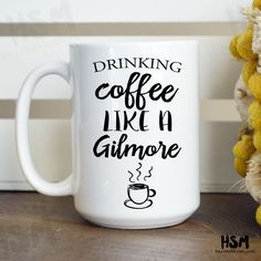 Drinking Coffee Like a Gilmore