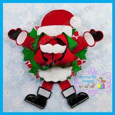 Santa Over-Sized Felties