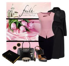 """SUNDAY SERVICES"" by arjanadesign ❤ liked on Polyvore featuring Ralph Lauren, Prada, Accessorize, Susan Caplan Vintage, Kevyn Aucoin, ralphlauren, KennethCole and homeyee"