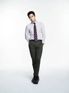 Kim Soo Hyun's Second Batch Of ZIOZIA F/W 2013 Visuals | Couch Kimchi