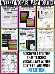 This year-long vocabulary curriculum will expose your students to TONS of Tier 2 vocabulary words in order to help them build skills for oral language, writing, reading, and real-world experiences. Your students will be immersed in vocabulary instruction