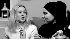 image of Sana and Noora from SKAM