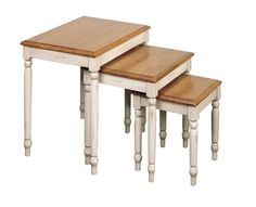 OSP Designs Nesting Tables, Brown