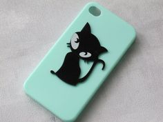 Sale cat iPhone 4 case iPhone 4s case case for by jimjewelry1, $9.99