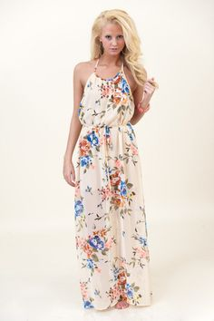 Tropical Me Maxi Dress - Dresses | The Red Dress Boutique.. Awesome Website!