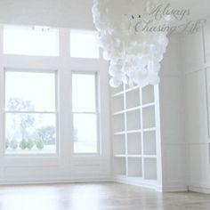 elegant-white-library-built-in-bookcases